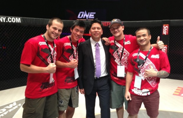 Thanh Vu at One FC