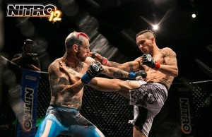 Nitro MMA 12 - Chris Morris vs Luke Morris