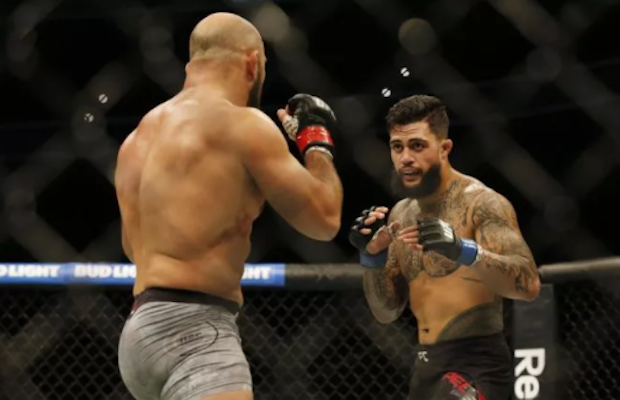 Tyson Pedro handed first career loss at UFC 215