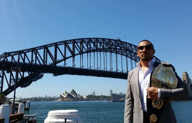 Marquee man Robert Whittaker pulls out of UFC's WA debut event