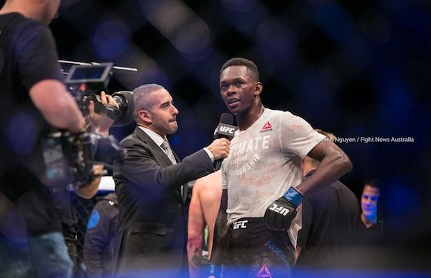 UFC on Fox 29: Adesanya edges Vettori with split decision