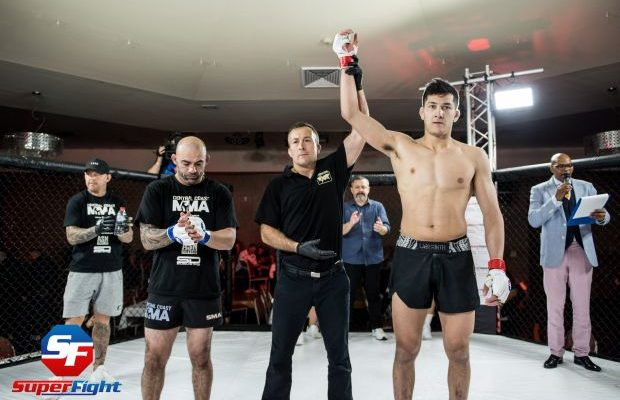 Weigh-In for Superfight MMA 13 - Leo Diaz vs Cameron Rowston
