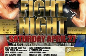 Airlie Fight Night 1 Poster