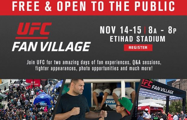 UFC 193 Fan Village Schedule Announced – Fight News Australia