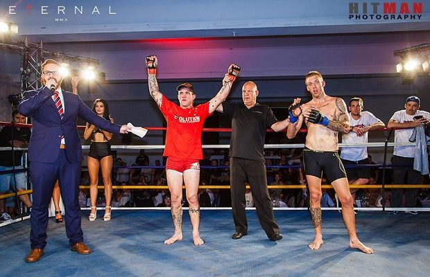 Big Dai Jenkins victorious against Jed Bolton at Eternal MMA 21