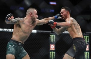 Alex Volkanovski v Max Holloway (Source:Getty)